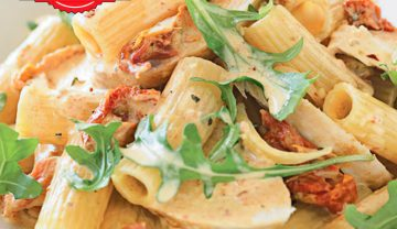 Chicken pasta filled with flavors